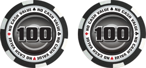 Poker chips template #110