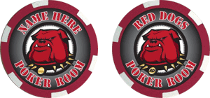 Poker chips template #111