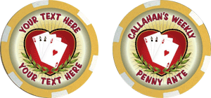 Poker chips template #114