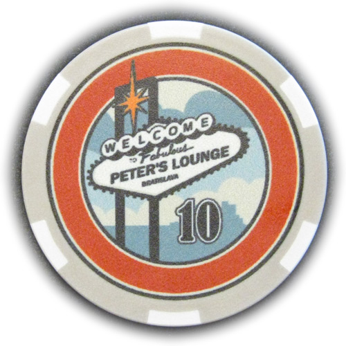 Poker Chip Peters Lounge