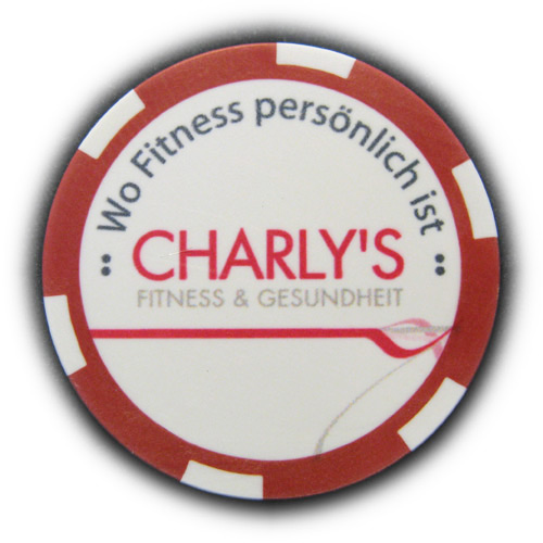 Promotion Chip Charlys Fitness Gesundheit